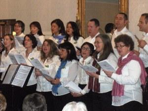 La chorale de Cast-Members en concert pour Make A Wish UK à Lanark, Ecosse