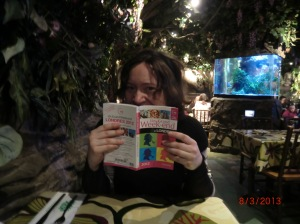 Rainforest Café avec Marianne
