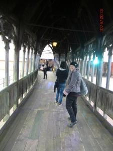 Marianne sur le pont couvert