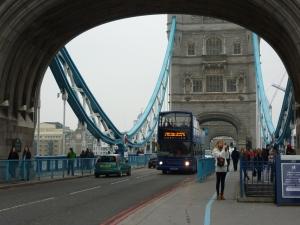 Onto Tower Bridge