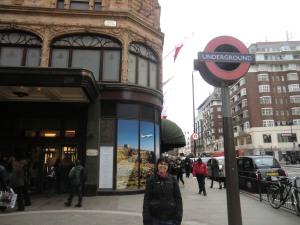 Underground on Knightsbridge