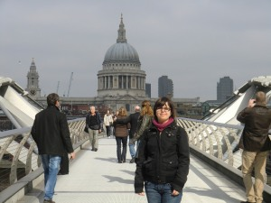 Millenium Bridge and St Paul