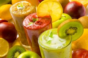 The healthy delicious drink
