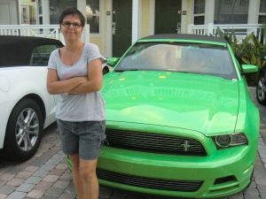 Me and my Mustang